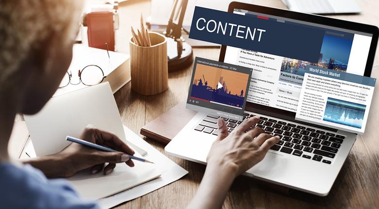 Content website có thể đa dạng hình thức truyền tải thông tin