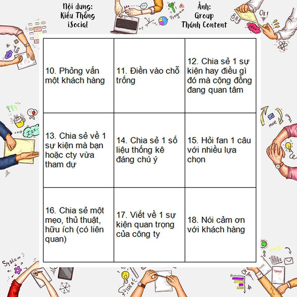y tuong noi dung fanpage 2