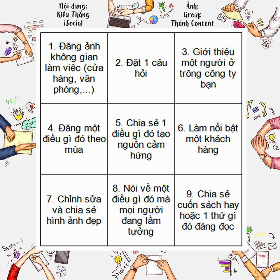y tuong noi dung fanpage 1