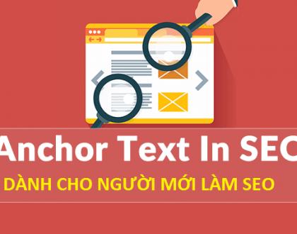 Anchor text là gì? Những điều bạn cần biết về anchor text
