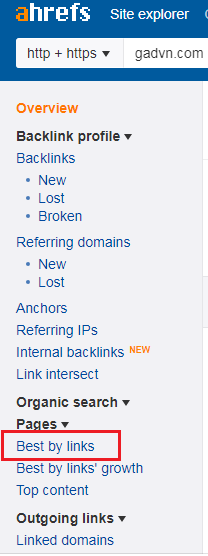 Bấm vào best by link
