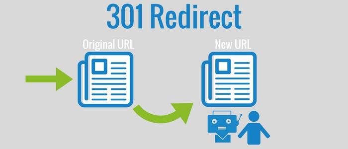 Rdirect 301 là chuyển hướng trực tiếp URL trên website