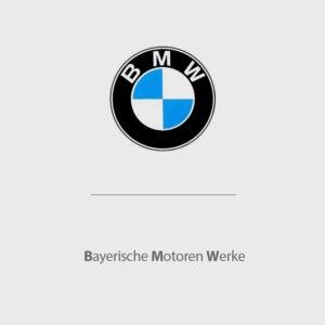 BMW là viết tắt của Bayerische Motoren Werke (Tập đoàn ô tô của vùng Bavaria).