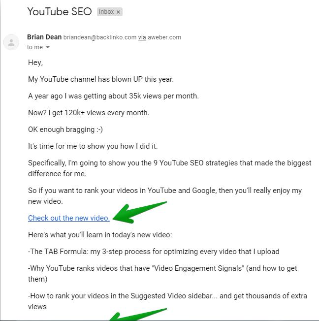 Gửi email thông báo cho người xem