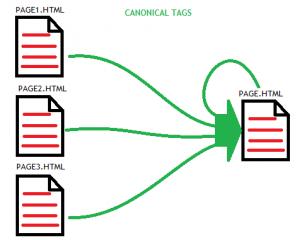 Thẻ canonical giúp google xác định được nội dung gốc