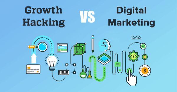 Nhiều khi growth hacking bao gồm cả marketing