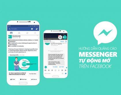Hướng dẫn quảng cáo Facebook Messenger từ cơ bản đến nâng cao