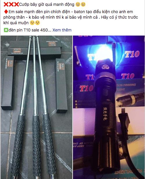 Quảng cáo vũ khí nóng