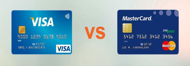 Thẻ Visa và Mastercard trong thanh toán quốc tế
