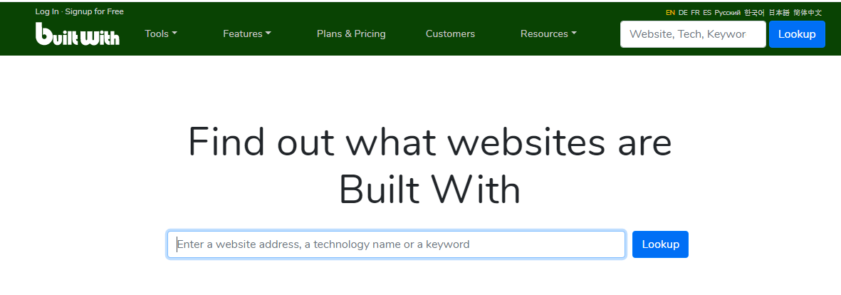 Nhập trang web cần kiểm tra