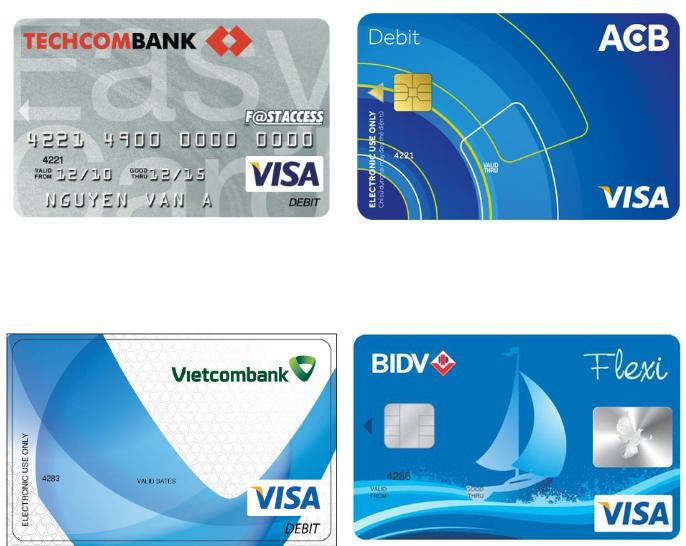 4 ngân hàng bạn nên làm thẻ thanh toán quốc tế