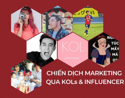 KOL và chiến dịch truyền thông marketing