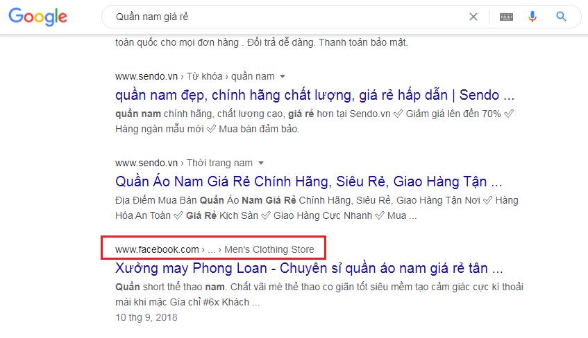 SEO Fanpge lên top tìm kiếm google