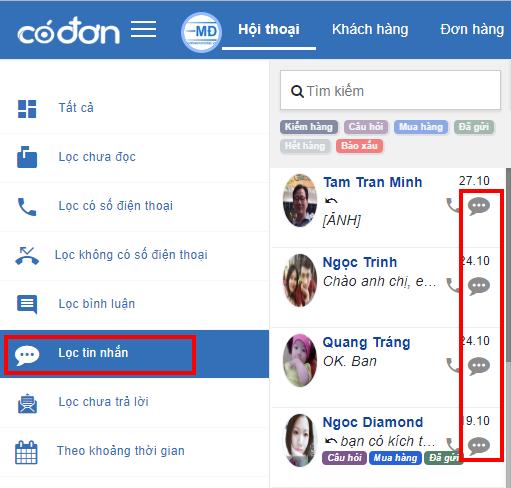 Sử dụng phần mềm quản lý tin nhắn Fanpage